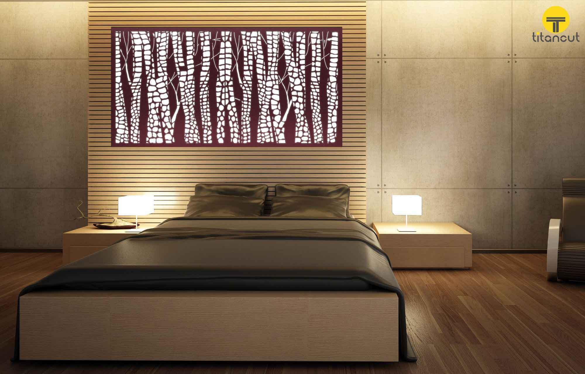 Lasercut Metal Screen