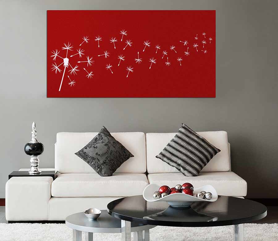 Metal-Wall-Art-Dandelion