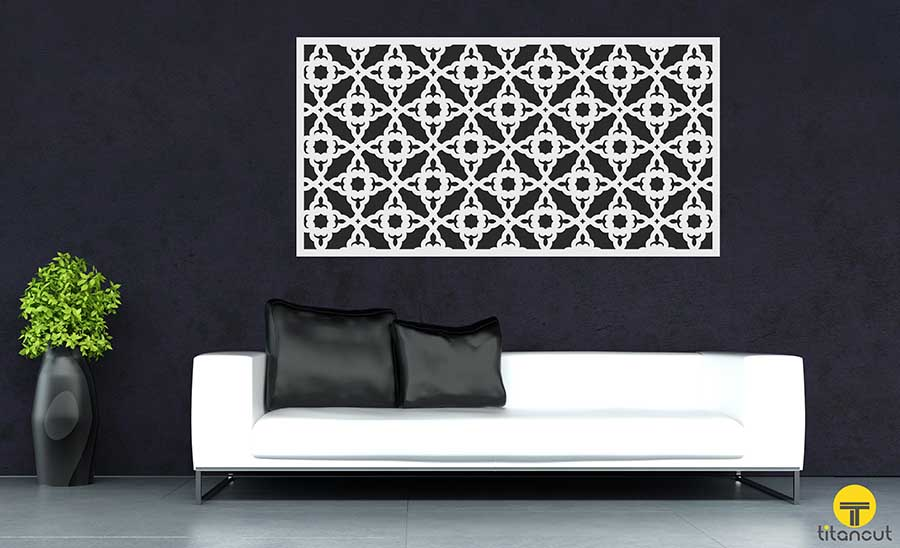 Orient Circle Pattern Panel