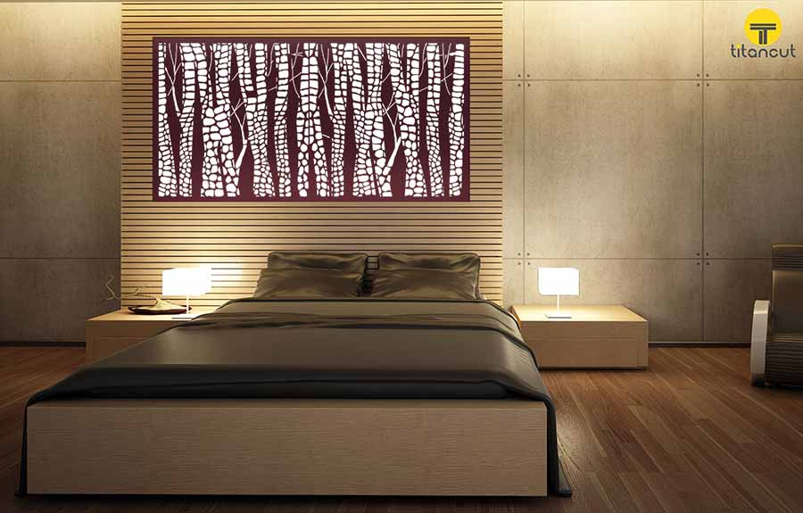 Snakewood Wall Panel