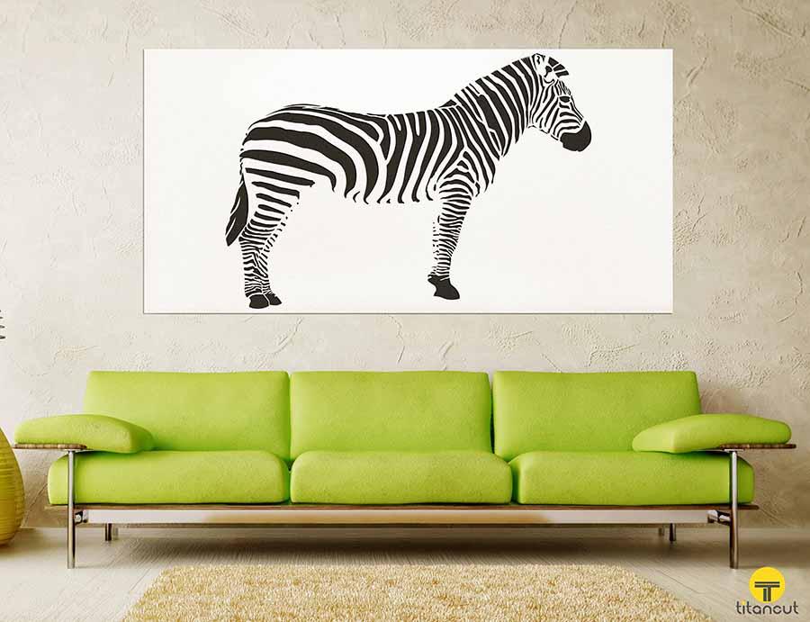 Zebra Wall Panel