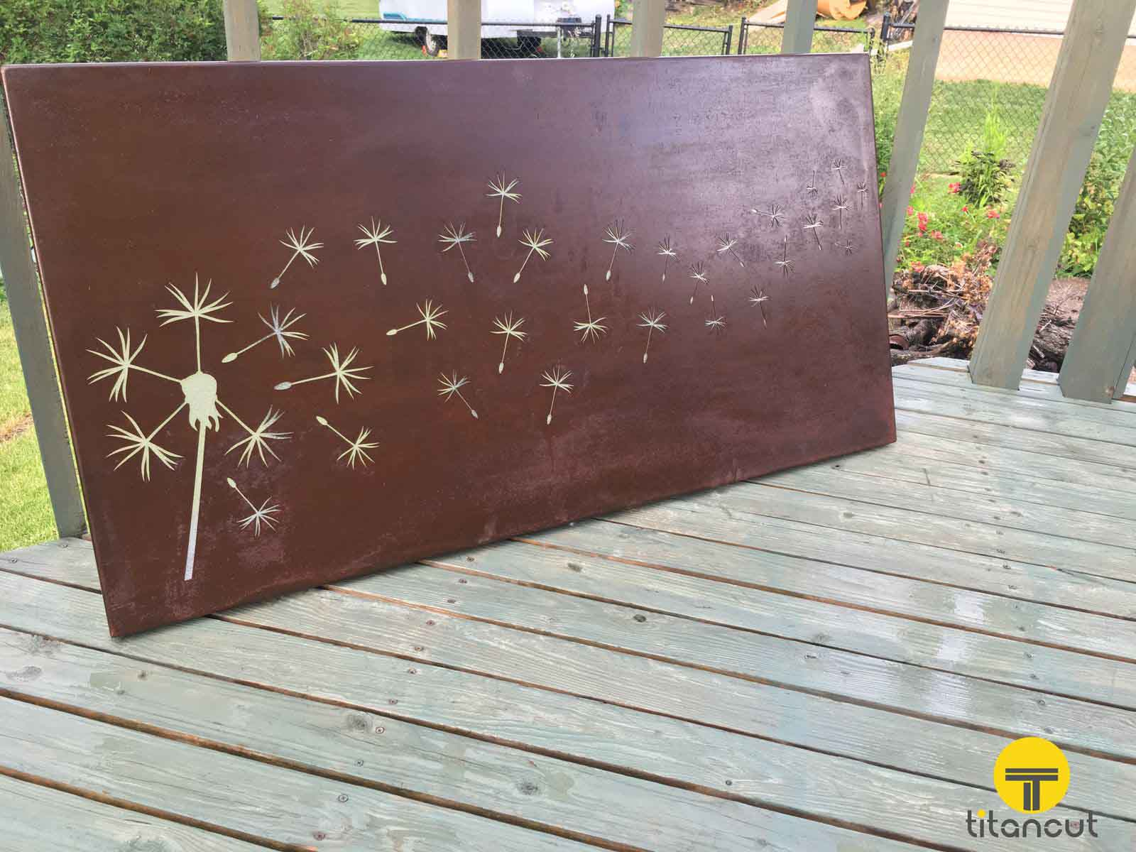 When can rust be a good thing titancut - Decorative metal wall art panels ...